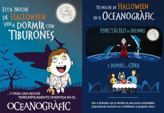Diviértete la noche de Halloween en el Oceanogràfic - http://www.valenciablog.com/diviertete-la-noche-de-halloween-en-el-oceanografic/
