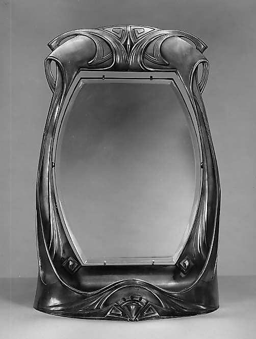 Dressing Table Mirror  Peter Behrens  1900-1910
