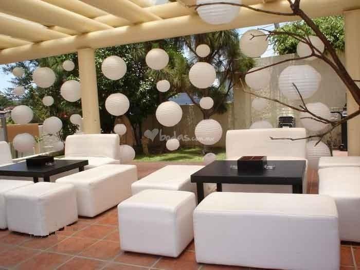 decoracin para bodas con globos chinos