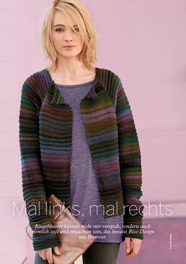 Strickanleitung Rico Jacke Simply Stricken 0616