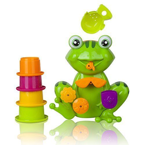 FUN Toddler Toys - Interactive Frog Baby Bath Toy for Toddlers - the Best Toddler Bath Tub Toys By Zig Zag Kid - Educational Baby Bath Toy for Girls & Boys! Safe, Non-toxic, Bright Colors and Fun! Zig Zag Kid http://www.amazon.com/dp/B00UH91J68/ref=cm_sw_r_pi_dp_Ysnowb0GFCHR8