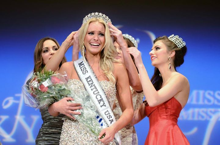 Katie George Crowned Miss Kentucky USA 2015