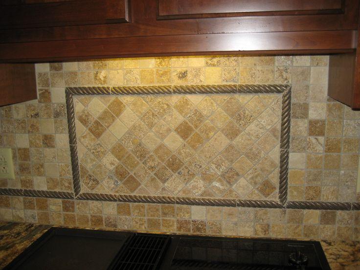 Travertine Tile Backsplash Smith Tile Company Inc