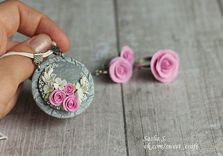 1920 X 1341 955.8 Kb Sweet Craft. Бижутерия, реалистичные цветы из полимерной глины. МАСТЕР-КЛАССЫ