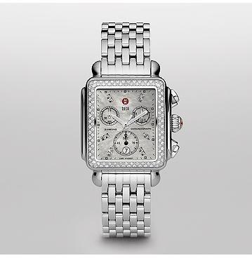Michelle diamond watch; Michelle watches remind me of robots.
