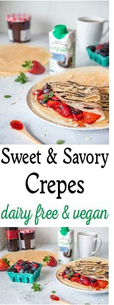 Even though they sound fancy, crepes are the perfect everyday food. They are surprisingly easy to make, and can be served sweet or savory.