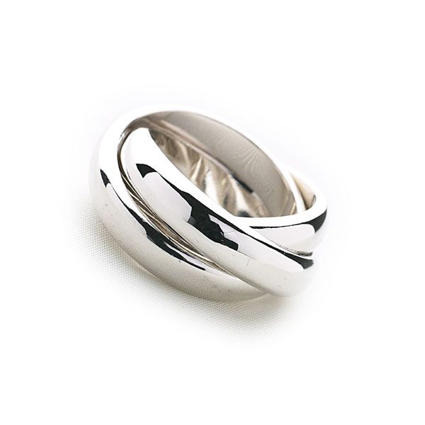 Russian Wedding Ring - silver rings - for him - shop by collection - collections - Silver by Mail Website