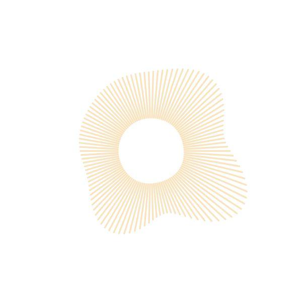 Image of the Day 2017/04/17 iotd print procedural radial sun trigonometry
