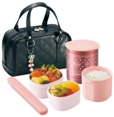 Zojirushi Thermal Lunch Box BENTO BAKO | SZ-GA02-BA Black (Japan Import)