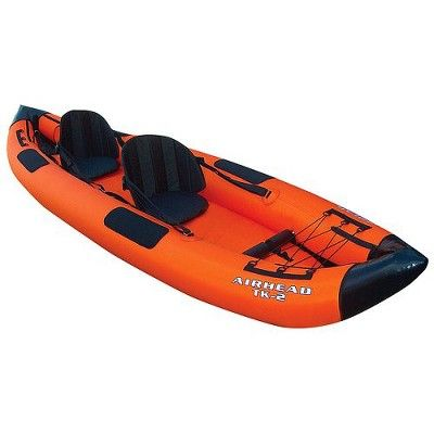 Red dress 2 piece kayak