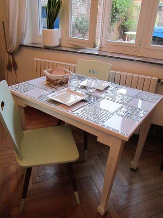 table cuisine récup'