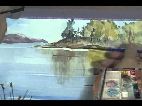 Paint Along with Larry Hamilton - July 23, 2013 - Watercolor Workshop - Lessons -1-3