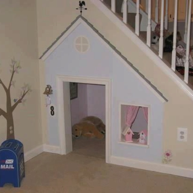 Pet house in your home.