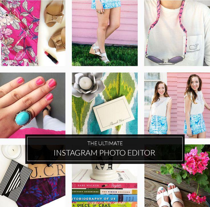 How I Edit My Preppy Instagram Photos (@mariepbd) | Progression by Design