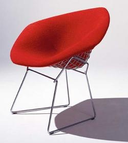 Bertoia Diamond Chairs... love these.. I should since I have a few of them :)