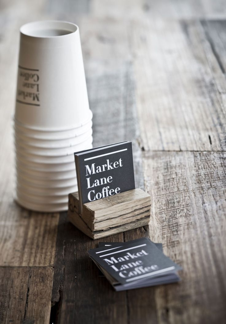 Great business cards from Market Lane Coffee in Melbourne, Australia repinned by www.BlickeDeeler.de