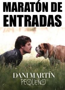 """MARATÓN DE ENTRADAS """"CONCIERTO DE DANI MARTÍN"""" EN TAZACORTE."""