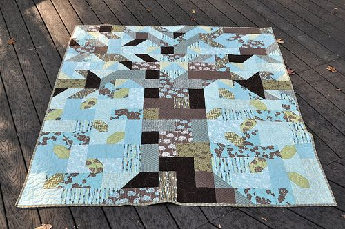 rooted quilt pattern (fat quarterly issue 3) by John Adams