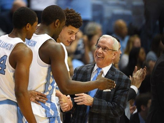 Hall of Fame coach Roy Williams earned his 800th career victory when Isaiah Hicks scored 20 points to lead No. 9 North Carolina to an 85-68 victory over Syracuse on Monday night. Kennedy Meeks added 15 points and 12 rebounds for the Tar Heels (17-3, 5-1 Atlantic Coast Conference), who shot 52 percent and dominated the boards. UNC never trailed after the game's opening possession, led 42-30 at halftime and then stayed a step ahead of the hot-shooting Orange after the break.