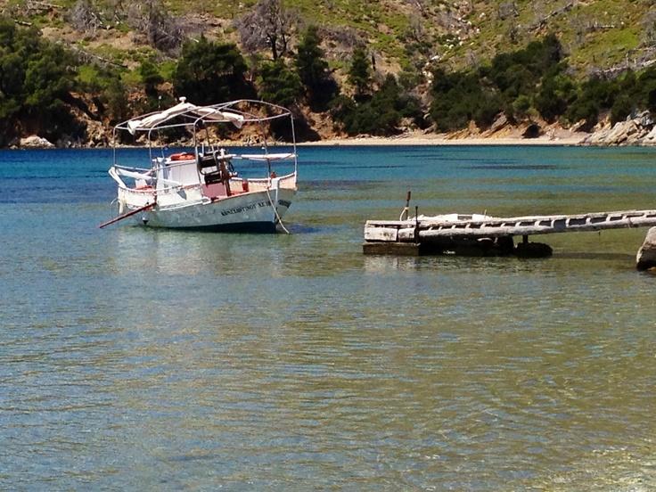 Agios Fokas beach, Skyros island.