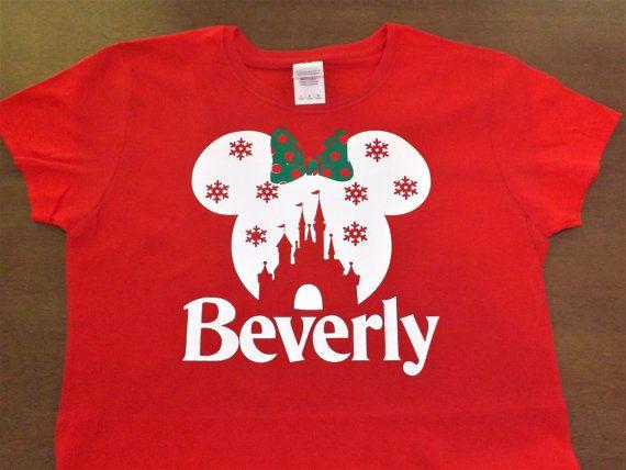 Familia Disney camisetas de camiseta personalizada de Disney