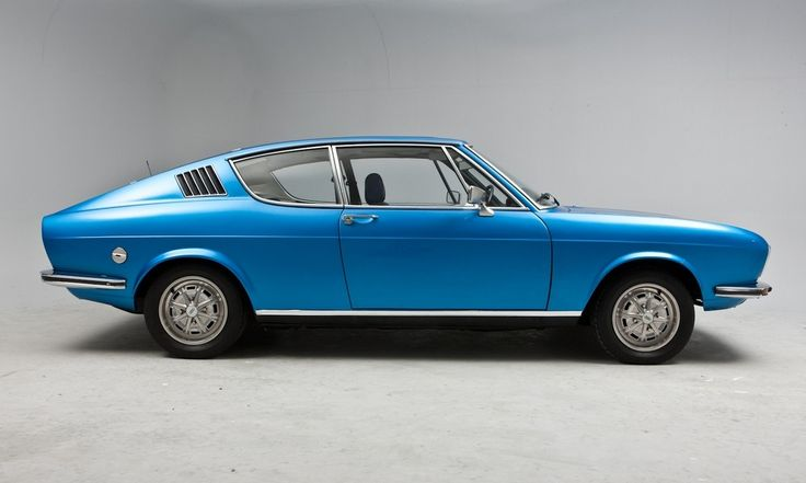 Audi 100 Coupe S, 1968–1976 - oh my gosh, gorgeous