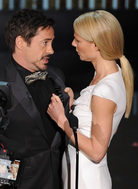 Robert Downey Jr & Gwyneth Paltrow