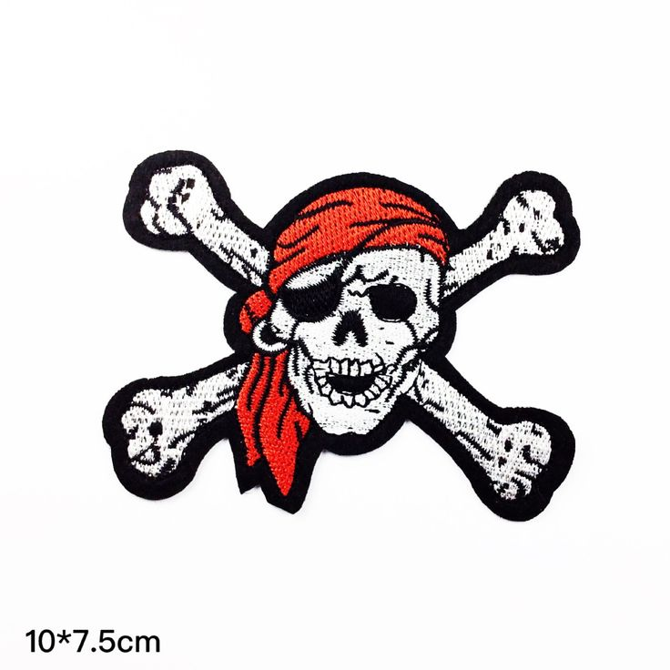 New to craftapplique on Etsy: patches punk patch Pirate skull patch punk patch back patch funny Monster freak git patch embroidered patch iron on patch sew on patch (A86) (2.50 USD)
