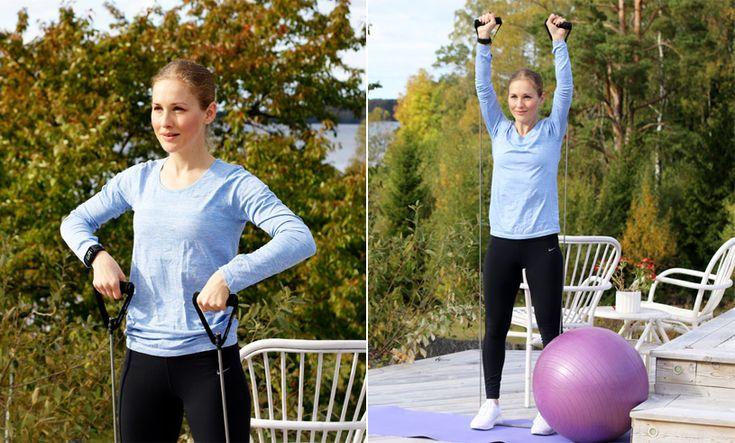 Video: Styrka och kondition för hela kroppen – träna hemma med 9 effektiva övningar