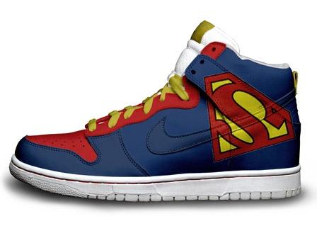 Nike Dunk Superman Hi-tops