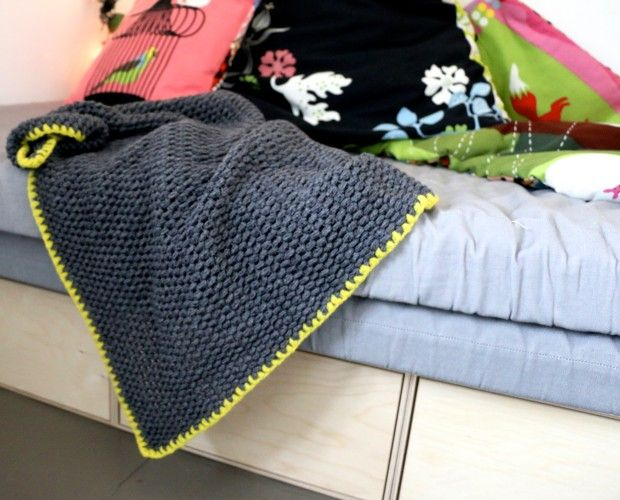 Det færdige babytæppe – hæklet – Puff Stiches | Eyes Wide Open