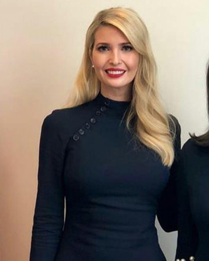 Ivanka Trump Womens Short Sleeve Tee Heather Grey Medium