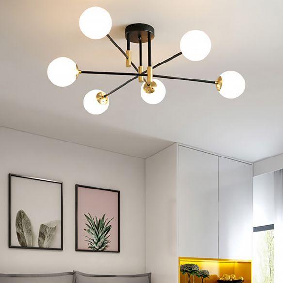 Semi Flush Mount Modern Lighting
