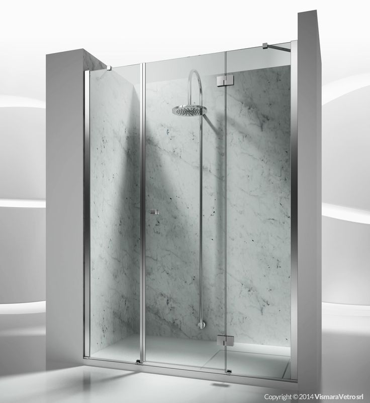 sm : sintesi shower enclosures models - pivot door | by @vismaravetro