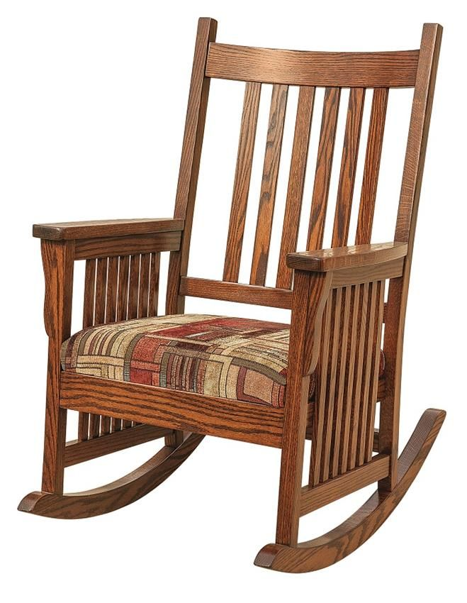 Rocking Chairs In The Living Room