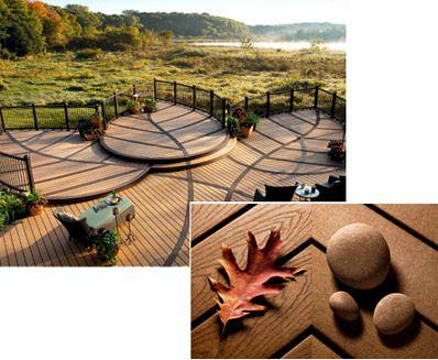 I love this deck design