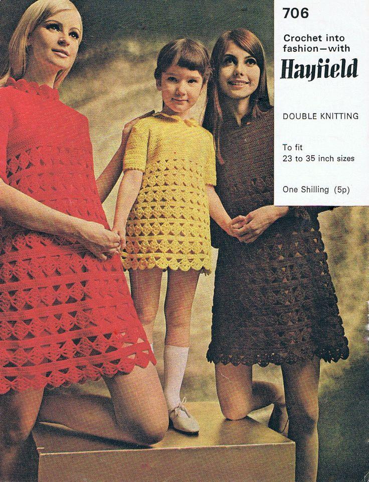 42 best Hayfield images on Pinterest | Knit patterns, Vintage ...