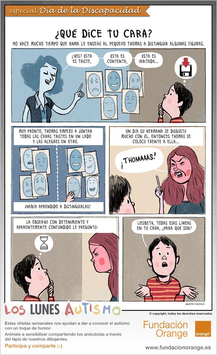 Especial por el Dia de la Discapacidad. Lunes de Autismo. www.imageneseducativas.com