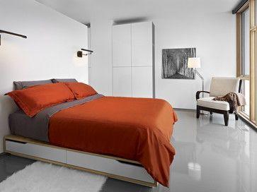 LG House - Master Bedroom - modern - Bedroom - Edmonton - thirdstone inc. [^]