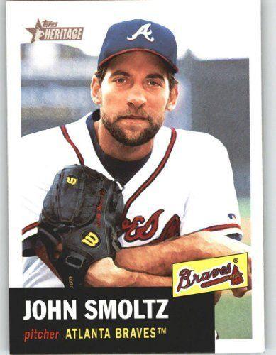 2002 Topps Heritage #299 John Smoltz - Atlanta Braves (Baseball Cards) by Topps…