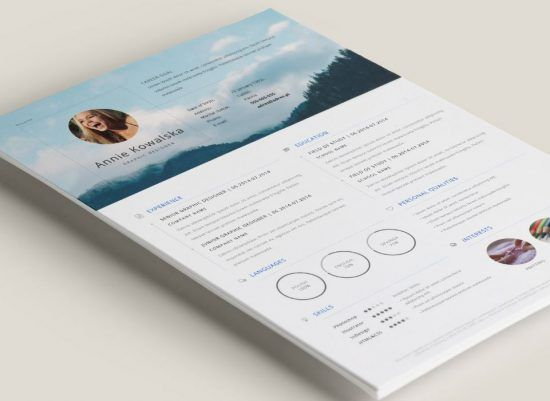 25+ Best Creative Resume For Graphic Designers (PSD File U0026 Ideas With  Examples)
