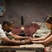 Still of Denzel Washington and Mila Kunis in The Book of Eli
