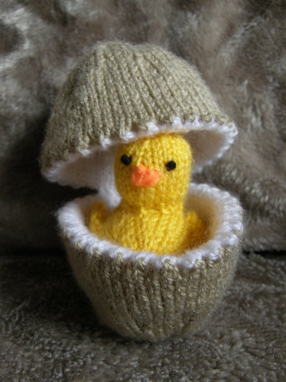 Easter Chick Knitting Pattern Instructions : 17 Best images about EASTER on Pinterest Growing plants ...