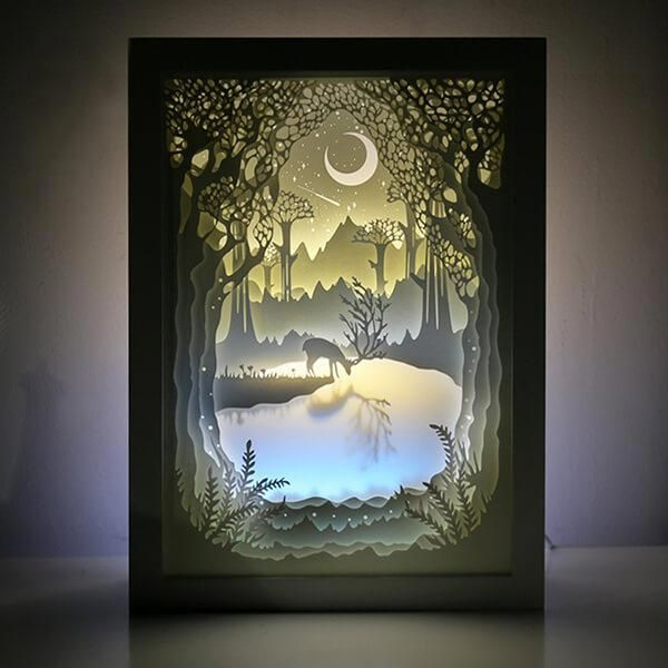 Categorycrafts And Projects Saleprice 33 Shadow Box Art 3d Paper Art Paper Artwork