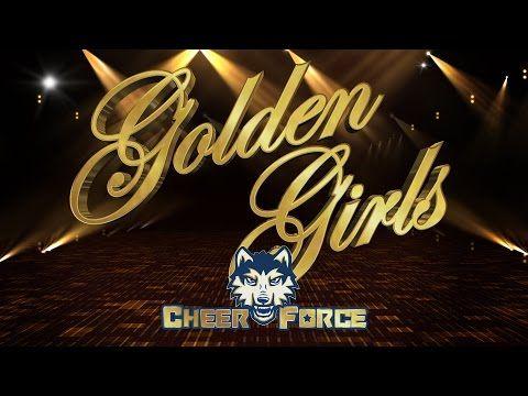 CHEERFORCE WOLFPACK 2016-2017 - GOLDEN GIRLS