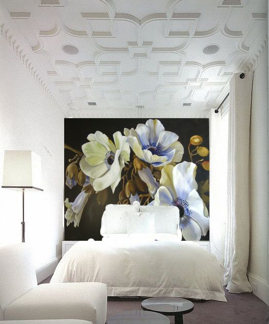 Interior Wallpaper Trends for 2016. From oversized florals to wall-size Renaissance portraiture. With the new year comes new trends.