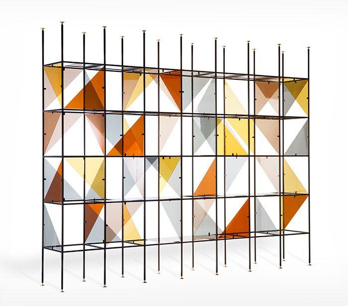 Bookcase, Dimore Studio pour Fendi © Silvia Rivoltella