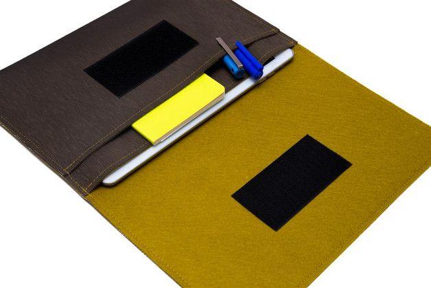 Tablet-PC-Taschen - 12.9 iPad Pro mit Tastatur tasche, ipad PRO Hülle - ein Designerstück von WeirdOldSnail bei DaWanda