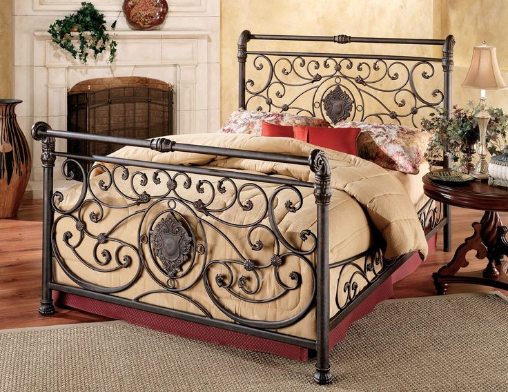 Hillsdale Mercer Bed Set - King - w/Rails