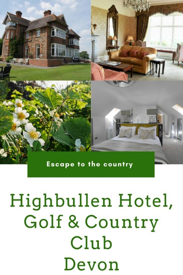Highbullen Hotel, Devon - a stunning retreat in Devon, England with an 18 hole golf course, spa, swimming pool and more - Highbullen Hotel